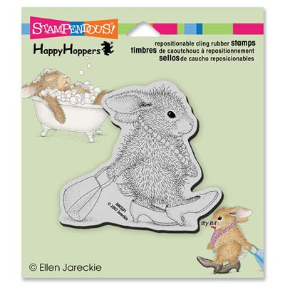 CLING DIVA HOPPER - House-Mouse Rubber Stamp