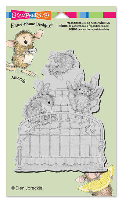 CLING BOUNCING BUNNIES - House-Mouse Rubber Stamp