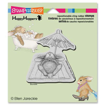 CLING UMBRELLA NAP - House-Mouse Rubber Stamp