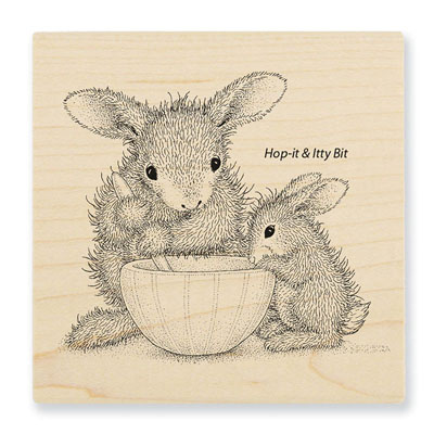MIXED UP - House-Mouse Rubber Stamp