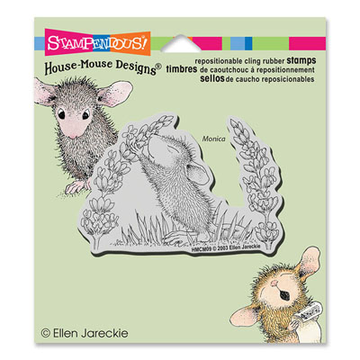 CLING Scent Of Lilac - House-Mouse Rubber Stamp