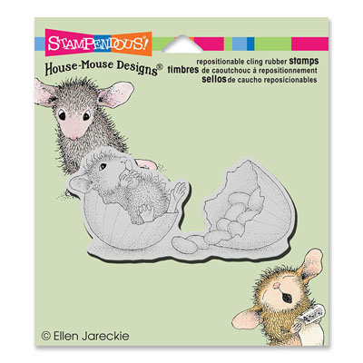 CLING JELLY BEAN BREAK - House-Mouse Rubber Stamp