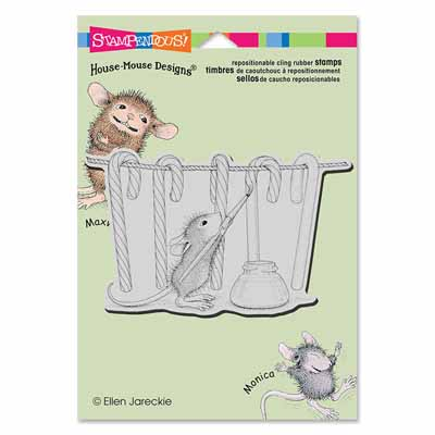 CLING PAINTING STRIPES - House-Mouse Rubber Stamp