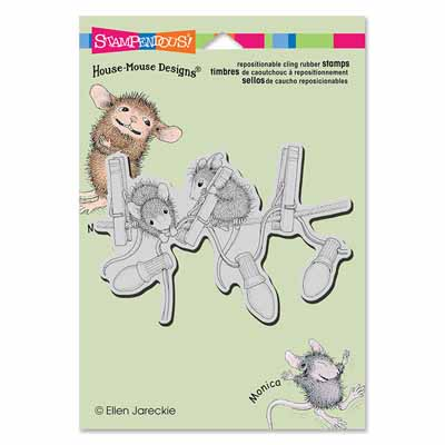 CLING HANGING LIGHTS - House-Mouse Rubber Stamp