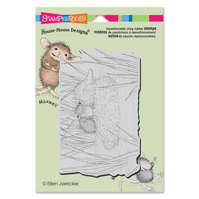 CLING DUCKY NAP - House-Mouse Rubber Stamp