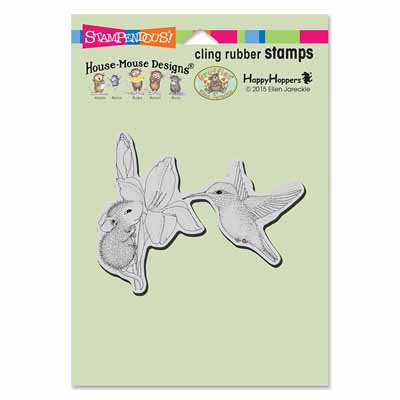 CLING IRIS CLIMBER - House-Mouse Rubber Stamp