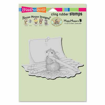 CLING PENCIL SHARPENER - House-Mouse Rubber Stamp