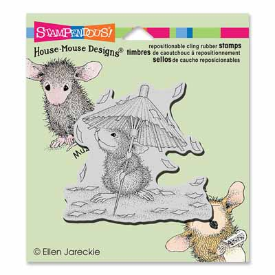CLING CONFETTI SHOWERS - House-Mouse Rubber Stamp