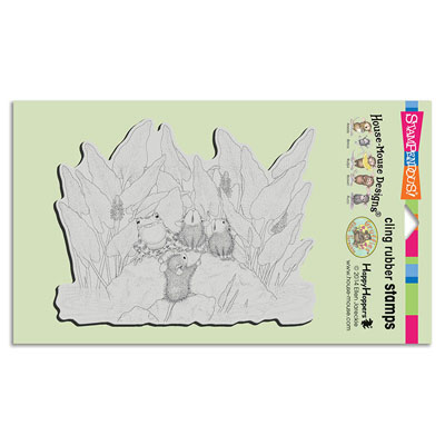 CLING POND SONG - House-Mouse Rubber Stamp