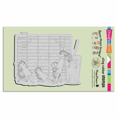 CLING FROZEN TREAT - House-Mouse Rubber Stamp
