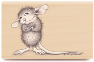 Mudpie Wonders - House-Mouse Rubber Stamp