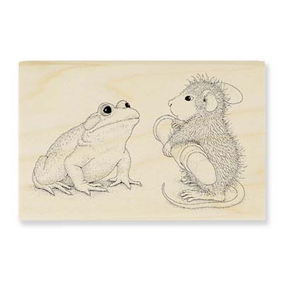 TOADAL MAKEOVER - House-Mouse Rubber Stamp