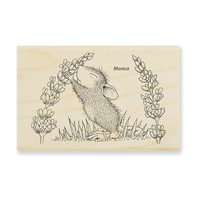 Scent Of Lilac - House-Mouse Rubber Stamp