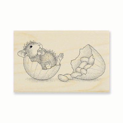 JELLY BEAN BREAK - House-Mouse Rubber Stamp
