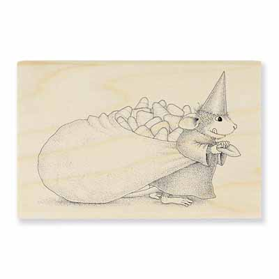Candy Witch - House-Mouse Rubber Stamp