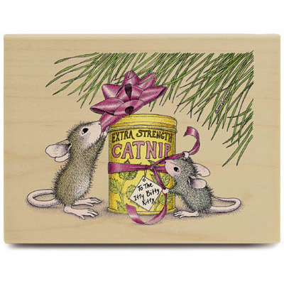 Catnip for kitty (Nov. 2003) - House-Mouse Rubber Stamp