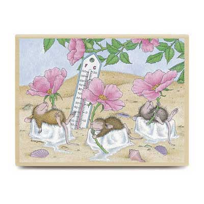 Beach Cooler (June 2006) - House-Mouse Rubber Stamp