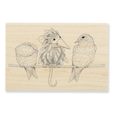 TWEET DISGUISE - House-Mouse Rubber Stamp