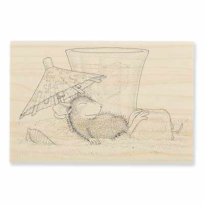 UMBRELLA SHADE - House-Mouse Rubber Stamp