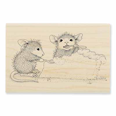 PUMPKIN PIE - House-Mouse Rubber Stamp