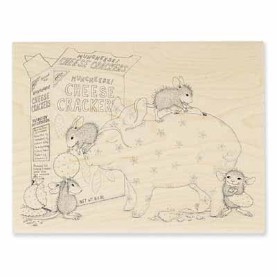BANK DEPOSIT - House-Mouse Rubber Stamp
