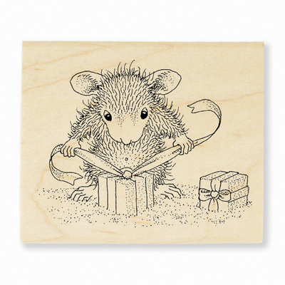 GIFTS TO TIE - House-Mouse Rubber Stamp
