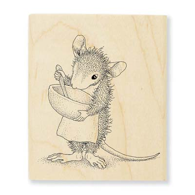 MIX IT UP - House-Mouse Rubber Stamp