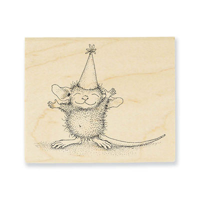 So Big - House-Mouse Rubber Stamp