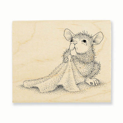 BABY BLANKET - House-Mouse Rubber Stamp